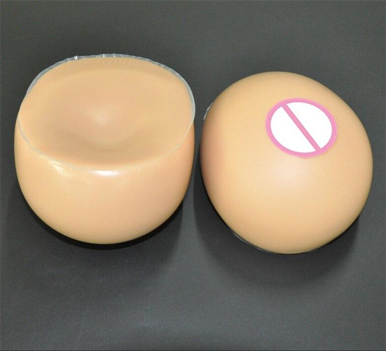 Boobs Crossdresser Formas de Mama de Silicone de Mama 2000 g/par Marrom Seios Falsos Seios Transgêneros Drag Queen