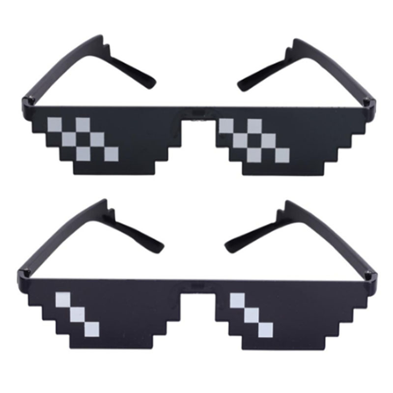 1Pc Fancy Glasses Photobooth Props Unisex Sunglasses Men Funny Decorative Glasses With Nose Pad For Weeding Party Decoration Toy