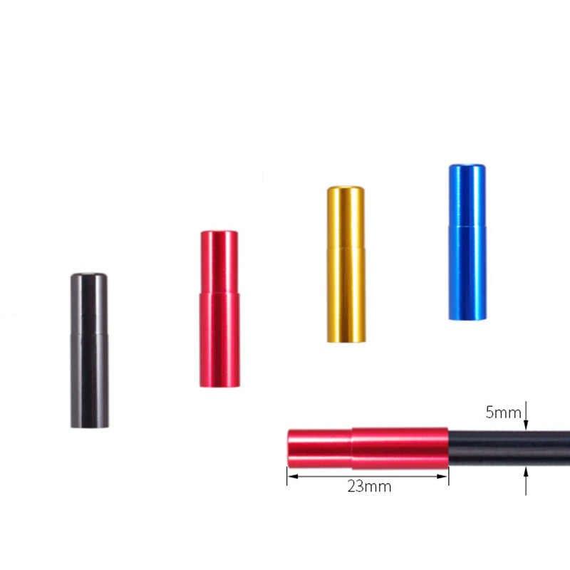 10 sztuk/zestaw przerwa rowerowa zaślepka linia kablowa końcówka obudowy rower 4 kolory linia ze stopu aluminium pokrywa rdzenia akcesoria rowerowe