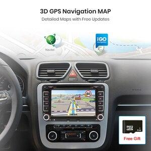 Image 3 - AWESAFE 2 Din 7 inch Car DVD GPS Radio Player For Volkswagen VW golf 5 6 touran passat B6 B7 sharan JATTA Skoda Seat Autoradio