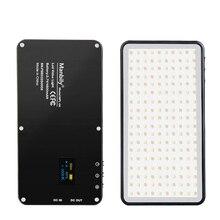 Manbily MFL-06 Mini Portable Photography Lighting Ultral Thin 4500mAh LED Video Light 180 LEDs Fill Light High CRI>96 for Camera