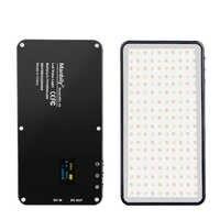 Manbily MFL-06 Mini Portable photographie éclairage ultra mince 4500mAh LED lumière vidéo 180 LED s remplir lumière haute CRI> 96 pour appareil photo