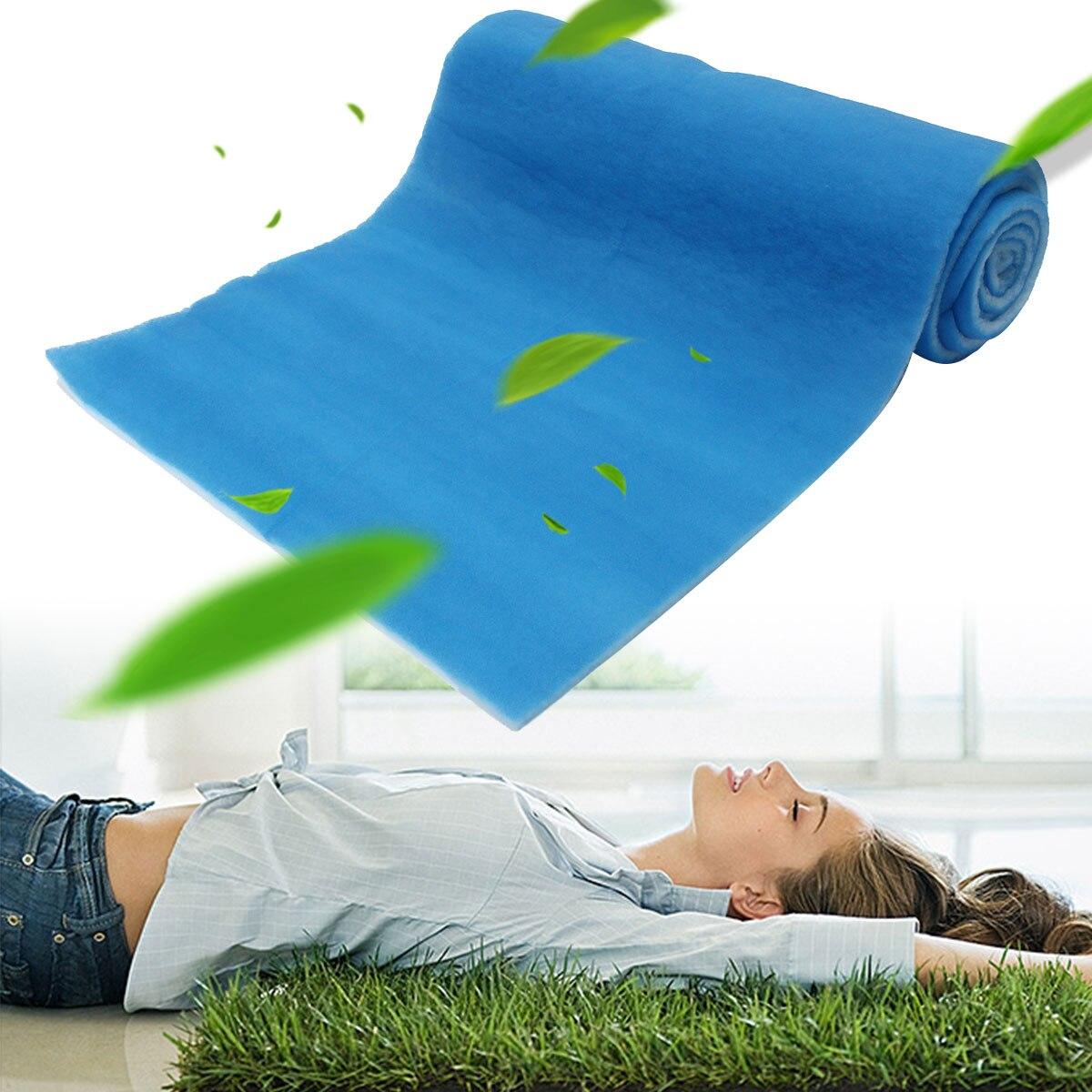 1 Roll 5M Polyester Fiber Air Filter Heat Resistant Air Filter Foam Filter Sponge Material Waterproof Paint Shop Car Spray Boot