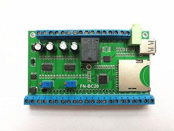 20 taste trigger MP3 power verstärker bord UART serial port control industriellen grade MP3 player bord-in Fingerabdruck-Erkennungsgerät aus Sicherheit und Schutz bei