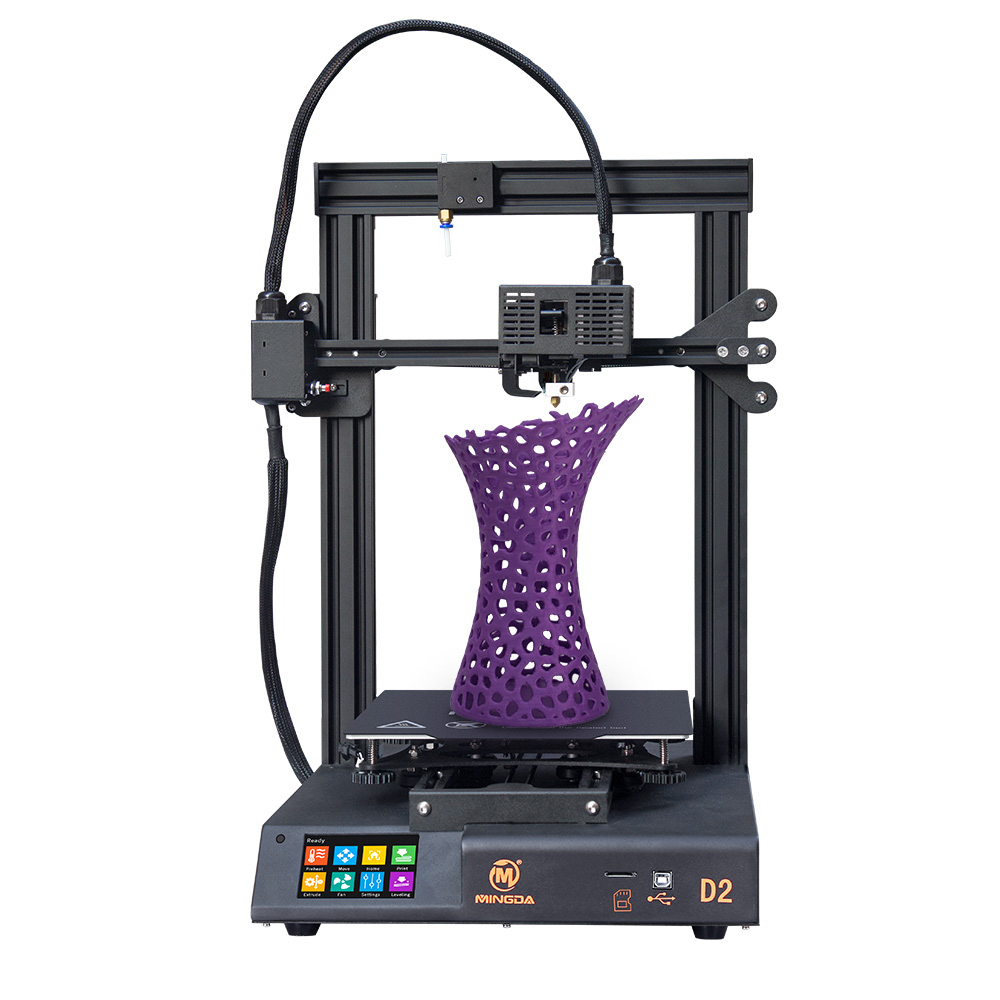 MINGDA D2 proximal extruder auto leveling 230x230x260mm 3D Printer with magnetic <font><b>sticker</b></font> DIY 3D print kit image