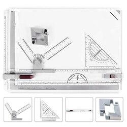 MyLifeUNIT A3 Zeichnung Bord Ausarbeitung Bord Lineal Ausarbeitung T Platz Protractors Einstellbare Winkel Kunst Zeichnung Werkzeuge