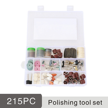 228pc grinding head sandpaper sanding disc abrasive brush pad polishing versa wheel stone tool buffing engraving carving kit