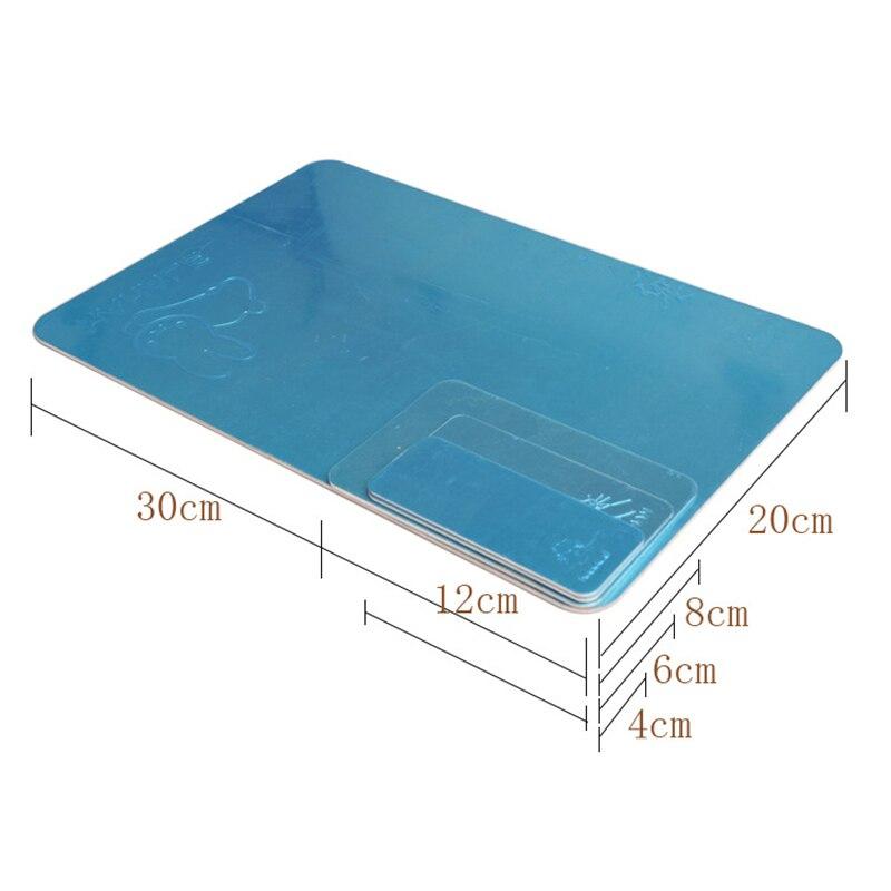 Охлаждающая пластина из ледяного алюминиевого сплава, 1 шт., коврик для досок для домашних животных, излучающая пластина для хомяка, 3 модели