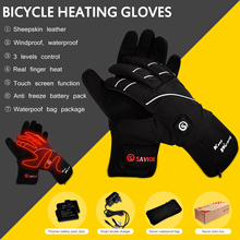 Warm Gloves Antifreeze-Battery Heating Riding Electric Winter Outdoor-Sports SAVIOR To