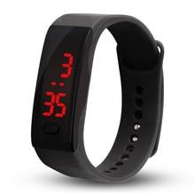 цены Kids Digital Watches Sport Simple Children Watch LED Good Boys Girls Men Women Electronic Clock Bracelet Wrist Watch Reloj Nino
