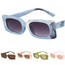 NEW Sunglasses Retro Rectangle Eyeglasses Small Frame Sun Glasses Goggles Anti-UV Spectacles Simplicity Eyewear Ornamental A++