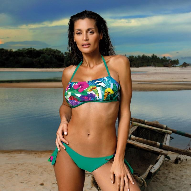 H93005dbadb7c4b2d9e0aca24e026a85aF 2019 Sexy Bikini Set Three Piece Swimsuit Women Push Up Swimwear Brazilian Bathing Suit Beachwear Swimming Suit For Women Bikini