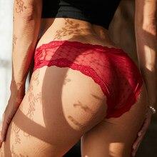 Kadın seksi dantel iç çamaşırı düşük belli Pantys nakış tanga şeffaf külot iç çamaşırı oymak kadın G dize M-XL