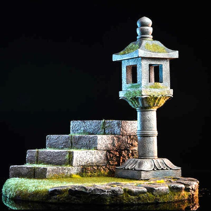 Pre Verkaufen 1/6 skala TWTOYS TW1912 Japanischen Harz Plattform Licht Modell Für 12 Inch Figur