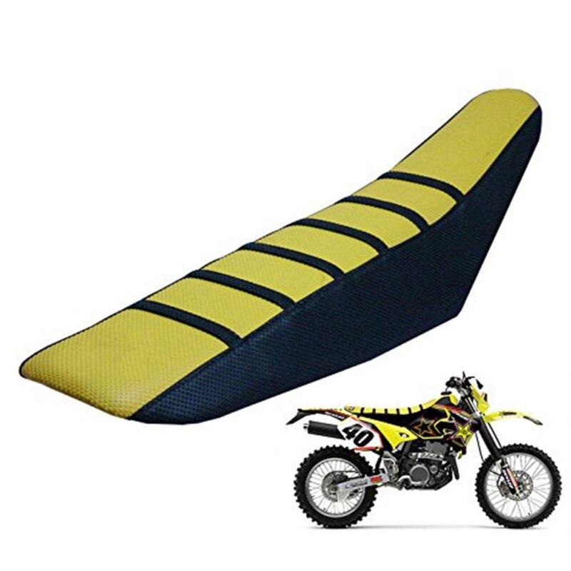 Uniwersalny chwytak miękkie Off road motocykl poduszki do siedzenia pokrycie siedzenia dla KTM Cross country motocyklowe poduszki do siedzenia przeciwpoślizgowe grube w Pokrowce na siedzenia od Samochody i motocykle na