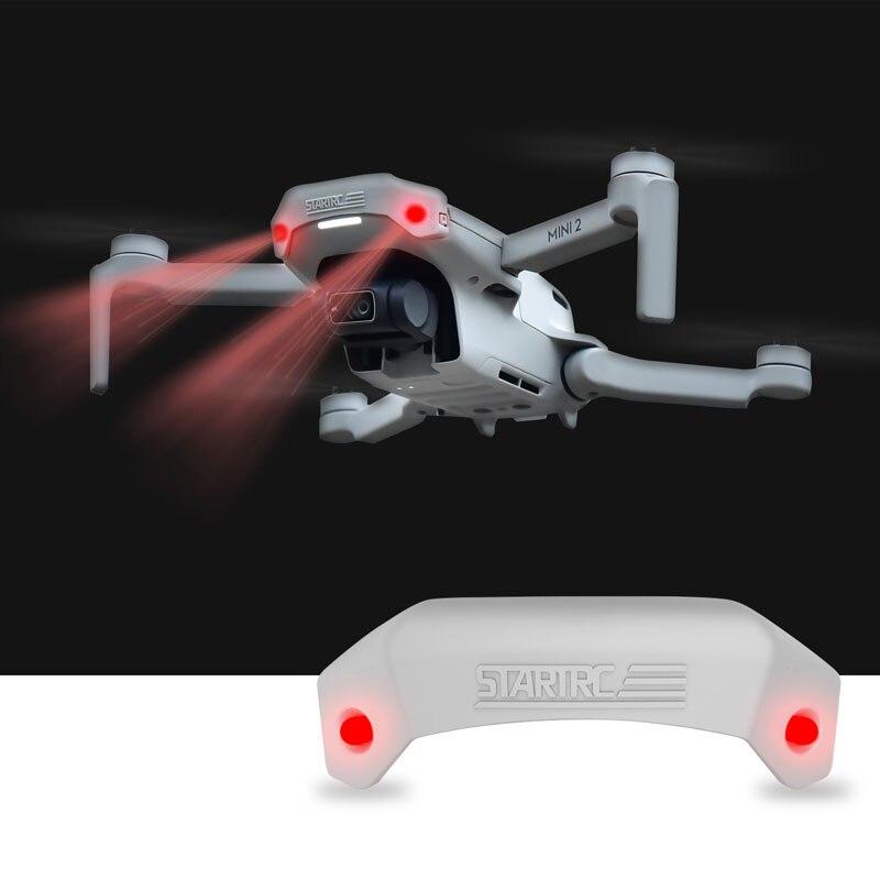 Mavic mini drone cabeça de luz olho cabeça piscando luz aviso para dji mini 2 acessórios