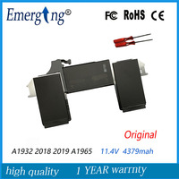 11.40V 4379mah A1965 Laptop battery For Apple Macbook Air Retina A1932 2018 2019 year with tools