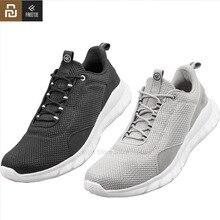 Youpin freetie sapatos esportivos leve ventilar elástico tricô sapatos respirável refrescante cidade tênis de corrida para ao ar livre