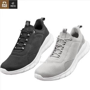 Image 1 - Youpin freetie sapatos esportivos leve ventilar elástico tricô sapatos respirável refrescante cidade tênis de corrida para ao ar livre