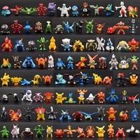 144Pcs Styles Pokemon toys Figures Model Collection 2-3cm Pokemon Pikachu Anime Figure Toys Dolls Child Christmas Halloween Gift 6