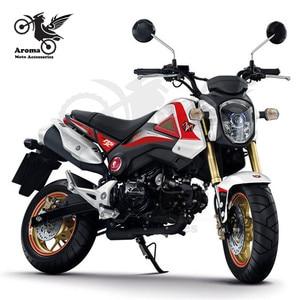Image 5 - ATV جزء moto rbike الجانب المرايا العلامة التجارية الأصلي moto مرايا الرؤية الخلفية ل honda msx 125 مرآة الرؤية الخلفية moto rcycle اكسسوارات