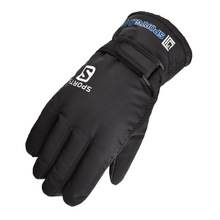 2019 New Men Waterproof Anti-Cold Warm Gloves Outdoor Sport Full Finger Mitten Adjustable men ski gloves Winter