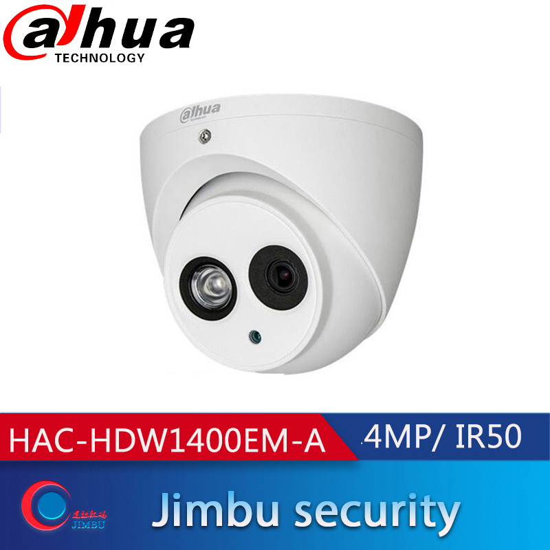 C/ámara HD CVI 4 MP Dome 2,8 mm IR 50 m Dahua HAC-HDW1400EM Dahua Technology