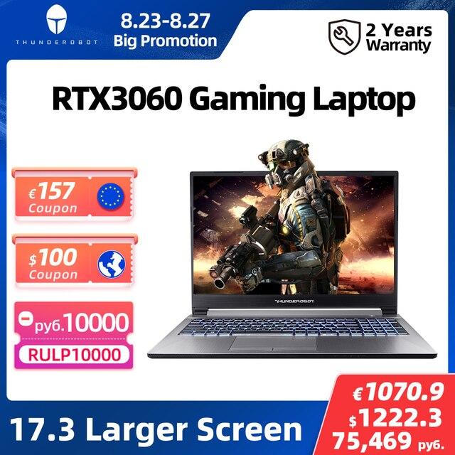 Игрововй ноутбук 911Plus RTX3060 17,3 16 Гб ОЗУ 512 ГБ SSD 144 Гц Windows 10 Pro 1