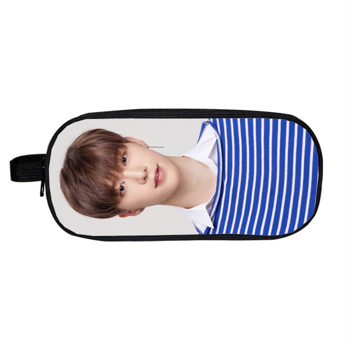 Idol Trainee-Style Cheng Cheng Chen Li Agricultural Primary School STUDENT'S Pencil Case Add Logo Stationery Bag