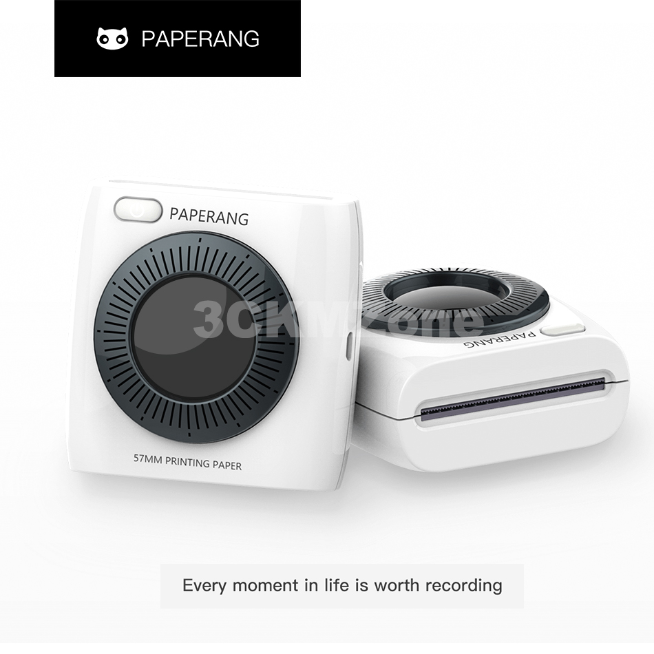 Image 2 - PAPERANG P2 Pocket Printer Portable Bluetooth Printer Phone Photo Wireless Connection Thermal Mini Pocket Label Printer 300dpi-in Printers from Computer & Office