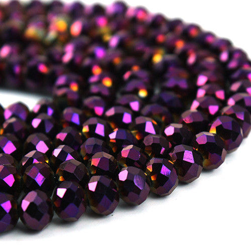 STENYA 4 3mm Mix Color Crystal Beads Rondelle Faceted Bead Bow Knot Diy Jewelry Findings Quartz