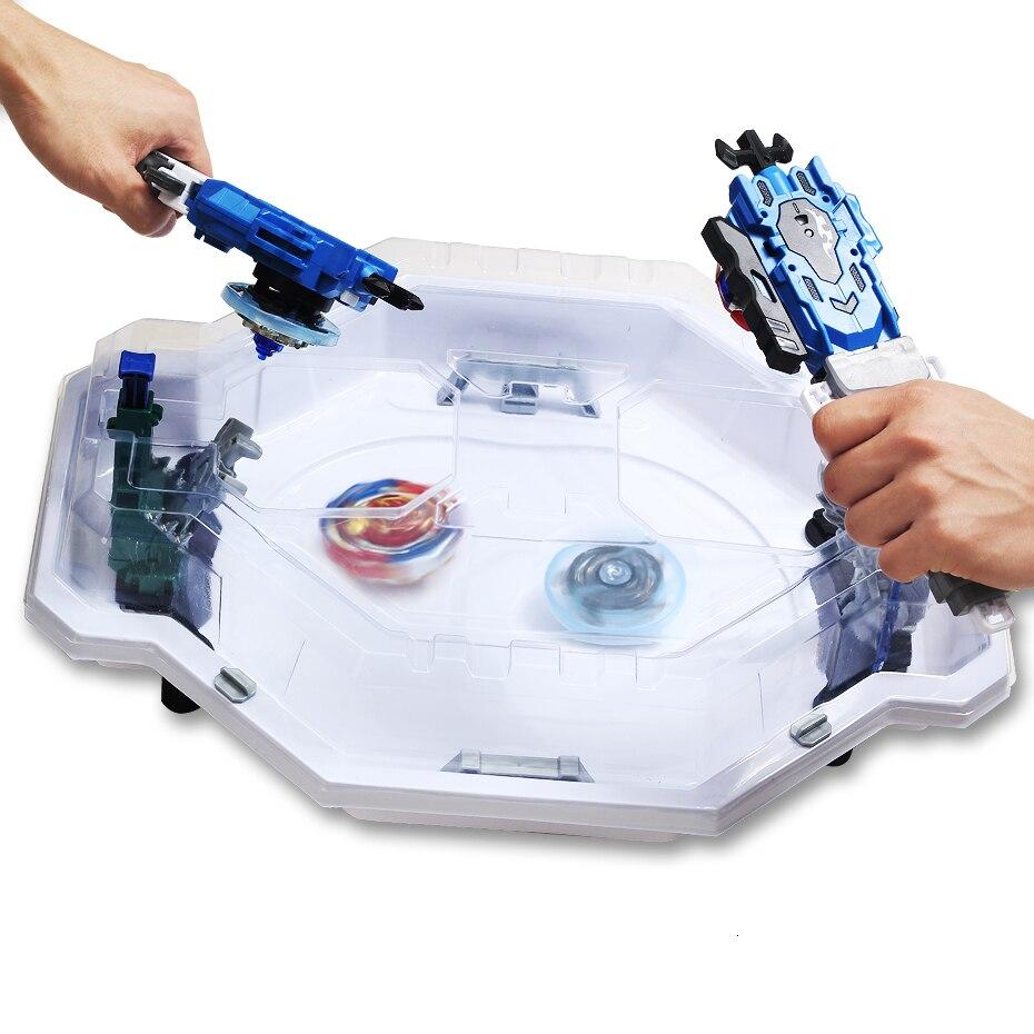 Beyblade rafale Beystadium Evolution stade luttant grand haut d'arène pour jeu Gyro disque Bayblade lanceur jouets en plastique