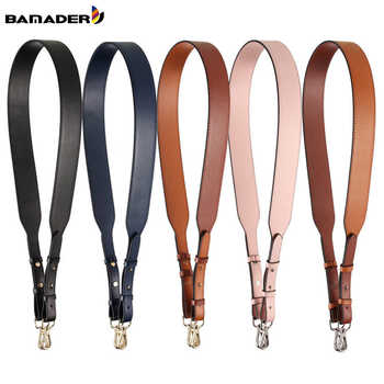 Genuine Leather Wide Shoulder Strap Brand Luxury Bag Strap Solid Color Adjustable Length 100cm-120cm  Women Bag Accessories - DISCOUNT ITEM  36% OFF All Category