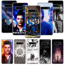 Nadprzyrodzone SPN Jensen Ackles etui do Samsung Galaxy S20 Ultra uwaga 10 9 8 S10E S9 S8 J4 J6 J8 Plus + Pro S7 S6 miękki telefon Coq