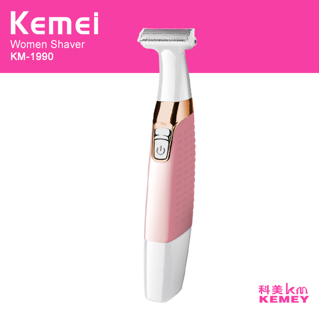 kemei 4 in 1 rechargeable lady electric epilator women shaver eyebrow trimmer