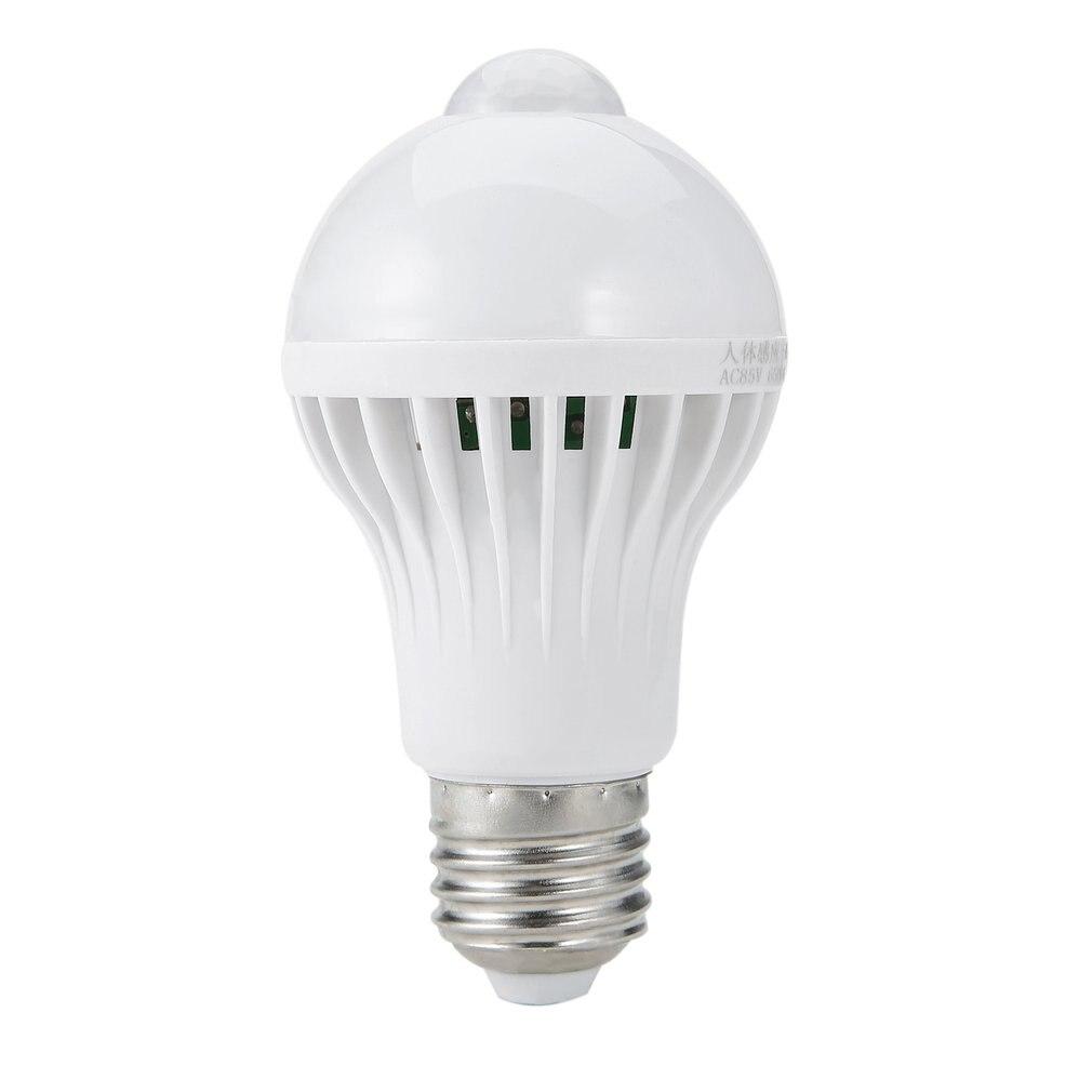 E27/B22 LED PIR Motion Sensor Lamp 5W/7W/9W Super Brightness PIR Infrared Human Body Induction Lamp Bulb 2017 Top Sale