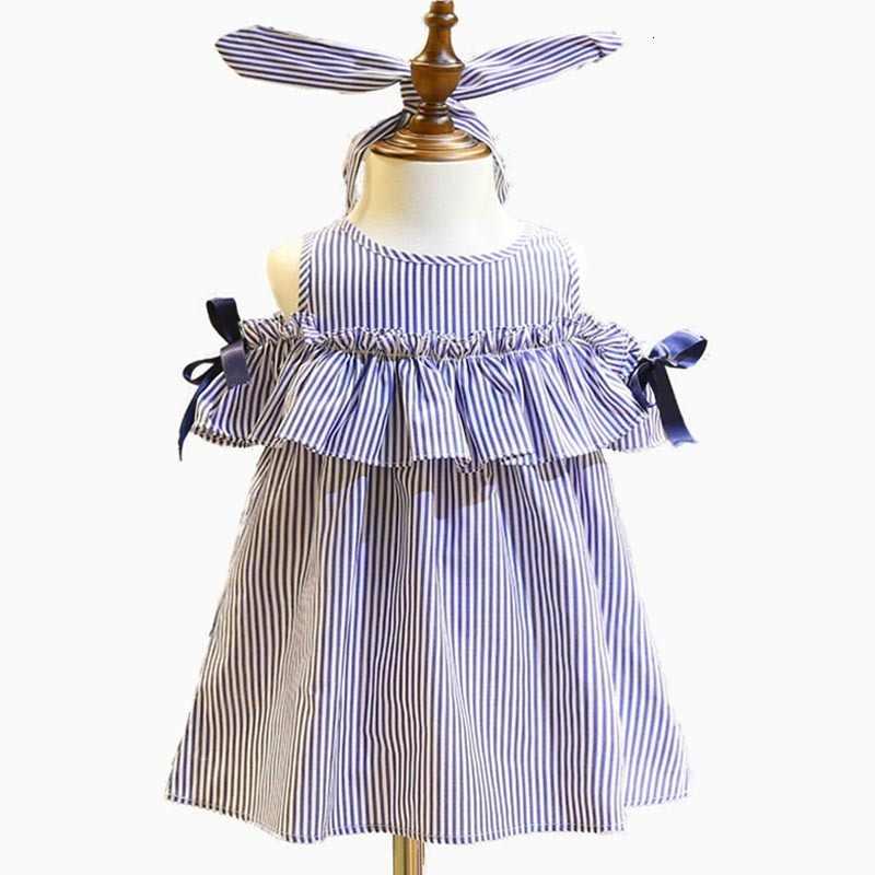 Vestido De Niña 2018 Bebés Niños Pequeños Demin Vestidos Casuales Vestido De Navidad Sólido Minnie Sin Mangas Vestidos Infantiles Para Niñas 1 5y