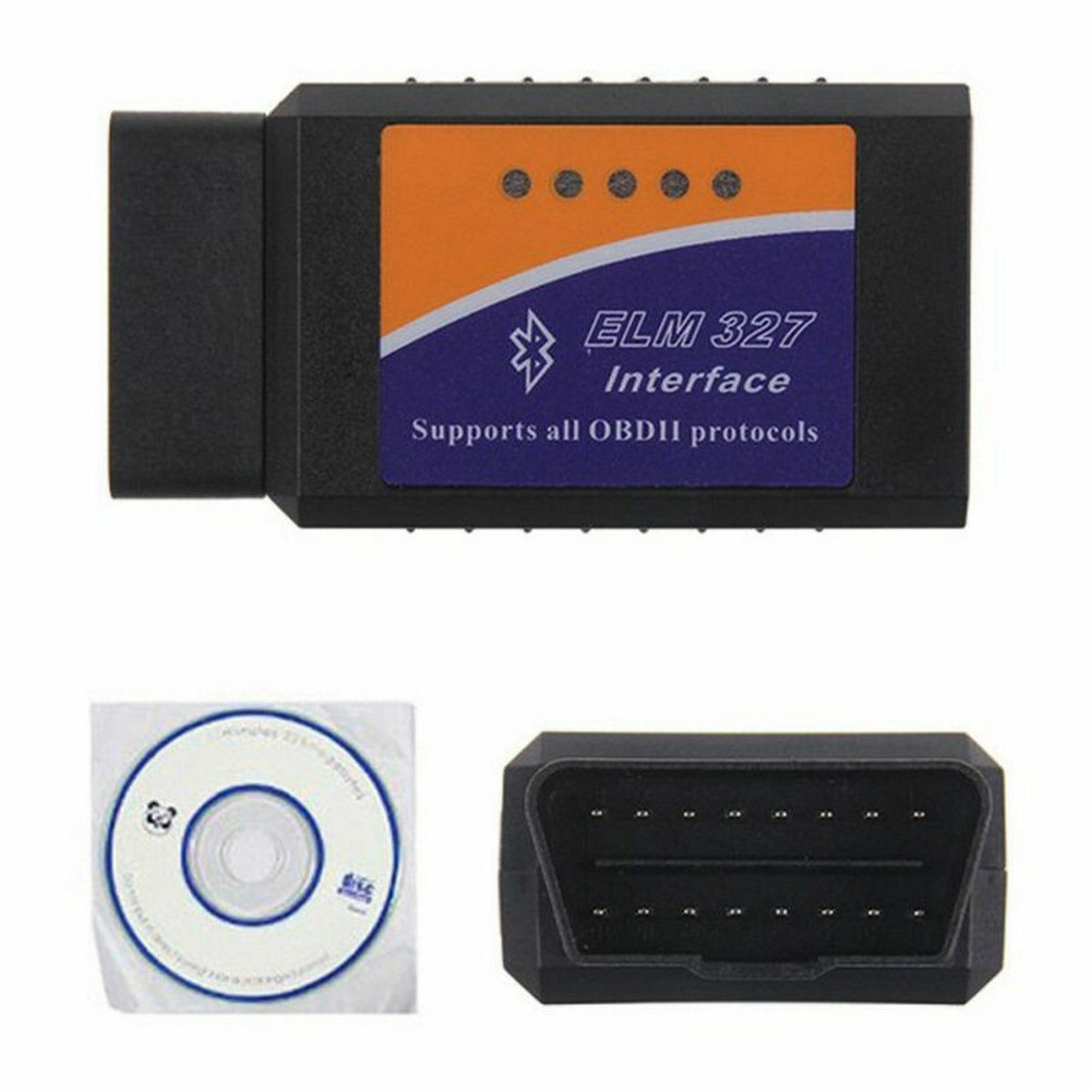Auto Diagnose-Tools Auto Code Scanner <font><b>Wifi</b></font>/Bluetooth Automotriz Scanner OBD2 V2.1 <font><b>ELM327</b></font> Bluetooth OBDII Scanner image