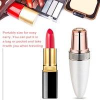 Mini Electric Body Facial Hair Remover Razor Depilator Waterproof Painless Body Face Neck Leg Hair Trimmer for Women Lipstick