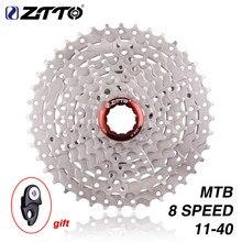 ZTTO MTB 8s 8 geschwindigkeit 40T kassette Breite Verhältnis Freilauf 8v k7 Mountainbike Fahrrad Teile Kassette 11-40T Kompatibel für M410 k7 X4