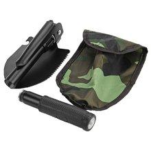 Садовые инструменты, мини-военная Портативная Складная лопата для выживания, экстренный садовый совок для кемпинга, скидка
