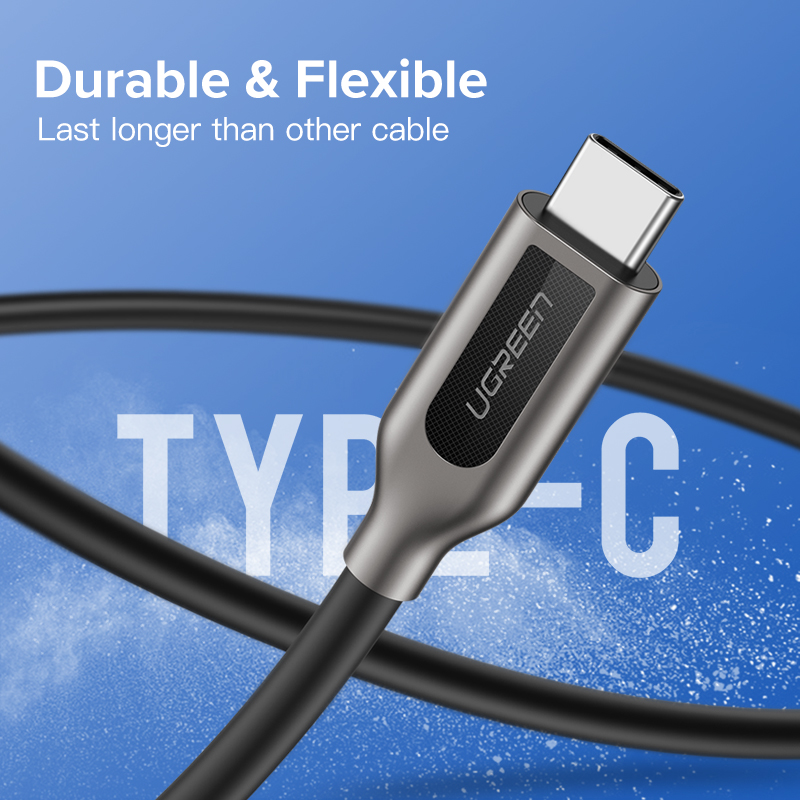 Ugreen PD 60 USB C to USB C 3.1 Cable for Samsung Galaxy S10 S9 3A  4