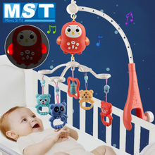 Bed Bell Rattles-Toys Carousel Light Music-Box Mobiles-Holder Baby Babies 0-12-Months