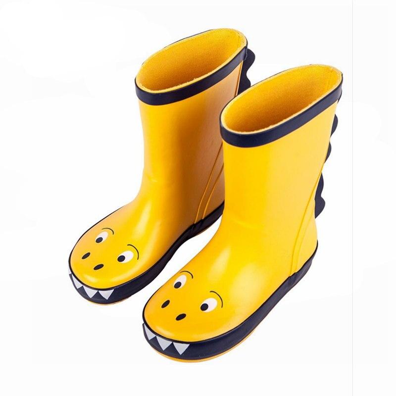 Kids Rain Boot Boy Girl Rain Rubber
