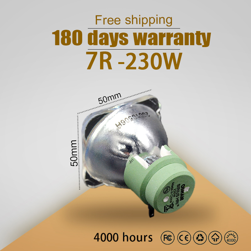 Kaita High Quality 7R 230W Lamp Moving Beam P-VIP 230/1.0 E20.8 For Osram 100% New Compatible Beam Lamp Bulb