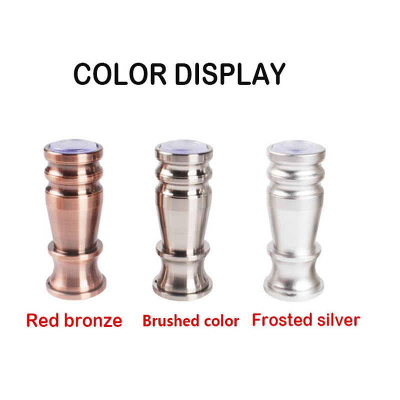 1PC Furniture Legs Aluminum Alloy Metal Hardware Tube Floor Bracket Foot For Cupboard Coffee Table Chair Tv  Sofa Bed Cabinet