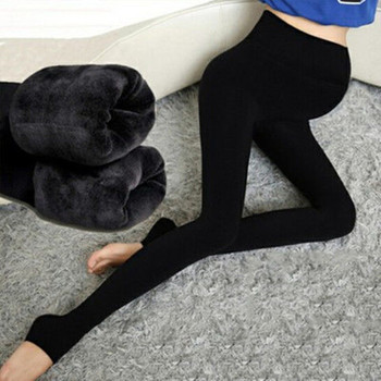 New maternity dress autumn and winter maternity pants plus velvet thick warm pregnant women leggings pregnant women leggings new pregnant women leggings plus velvet dragon scratching the stomach pregnancy can adjust the autumn