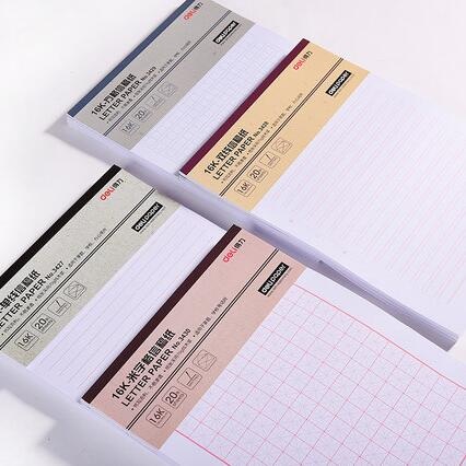 6pcs Different Formats Stationery Letter Writing Papers