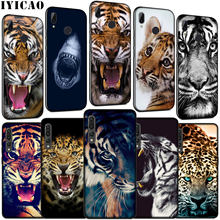IYICAO tiger leopard Shark Bleiben hungrig Weiche Silikon Fall für Huawei P30 P20 Pro P10 P9 Lite Mini 2017 2016 P Smart Z Plus 2019(China)