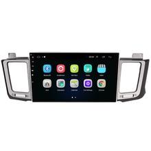"""10,1 """"4G LTE Android 8,1 подходит для TOYOTA RAV4 2013 мультимедийный стерео автомобильный dvd-плеер навигация gps радио"""